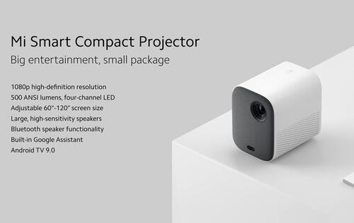Xiaomi's smart projector and handheld vacuum is here to keep you company at home