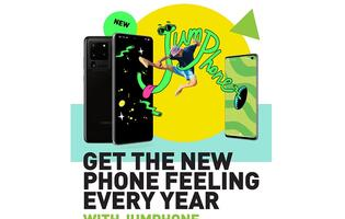 StarHub SIM Only customers can change a phone every year with StarHub JUMPhone