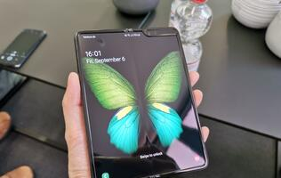 Samsung has shipped its first Android 10 update for the Galaxy Fold