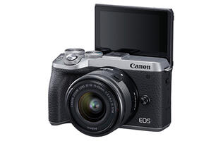 You can now do 24p movie recording with the Canon EOS M6 Mark II