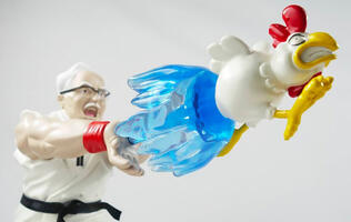 This Epic Hadouken figurine is exactly what you think it is
