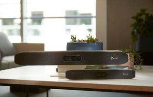 Poly Studio X video bars remove the need for a PC when video conferencing