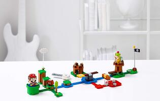 A quick look at the LEGO Super Mario Starter Set