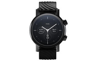 The latest Moto 360 smartwatch has a round display and runs Wear OS