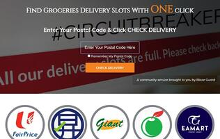 Frustrated in getting a delivery slot? This web tool will ease your online grocery shopping needs!