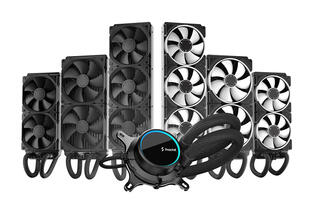 Fractal Design's Celsius+ AIO coolers make cable management a lot easier