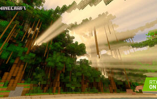 Minecraft is getting Ray Tracing visuals in a public beta this week
