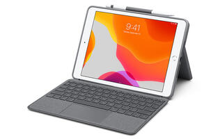 You can now order Logitech's new trackpad-equipped keyboard cases for the 7th-gen iPad and 3rd-gen iPad Air