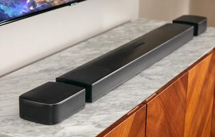 Kick back with the new JBL Bar 9.1, the company's first Dolby Atmos soundbar