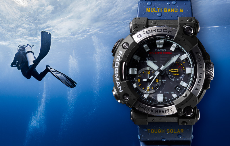 G-Shock's iconic Frogman goes analogue with the new GWF-A1000 (Updated!)