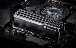 Thermaltake's TOUGHRAM Z-One are some of the sleekest looking memory modules around