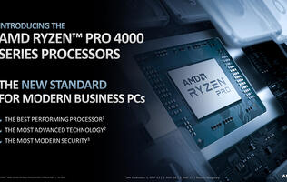 AMD's Ryzen Pro 4000 series processors boast new security features and better performance