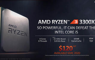 AMD announces new Ryzen 3 chips, will support Zen 3 on X570 chipset