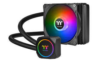 Thermaltake announces new TH120 and TH240 AIO coolers with addressable RGB lighting