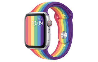 New Pride bands for Apple Watch announced, available today