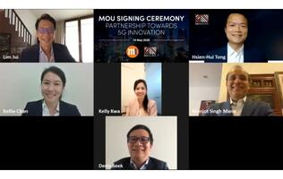 M1 and SGInnovate collaboration to help start-ups use 5G in their products and solutions