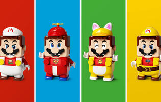 LEGO Super Mario Power-Up Packs have been announced, giving Mario new abilities
