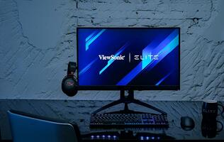 The new ViewSonic ELITE XG270QC gaming monitor is way ahead of the curve