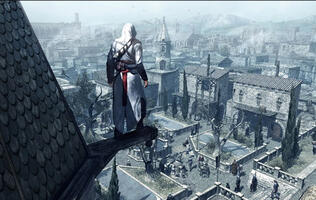 2007's Assassin's Creed ended up having side missions because of a kid