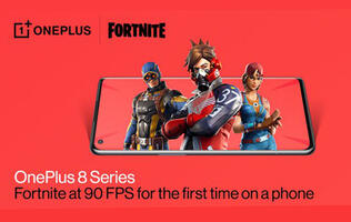 The OnePlus 8 can run Fortnite at 90fps