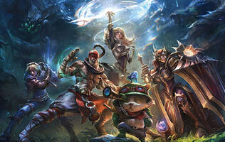 League of Legends will reportedly have in-game ads for official matches