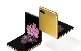 Samsung Galaxy Z Flip Mirror Gold Edition is all about raising the wow factor