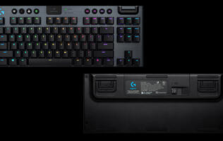 Logitech announces a tenkeyless version of their G915 Mechanical Gaming Keyboard