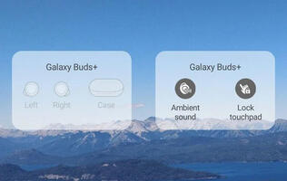Latest Samsung Galaxy Buds and Buds+ plugins bring widgets to the home screen