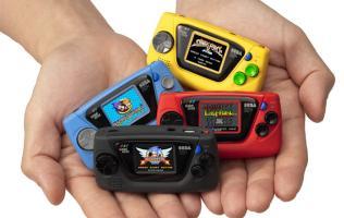 Sega's new retro gaming device is hilariously tiny