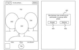 Apple has a patent for socially distant group selfies