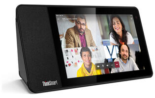 Lenovo's ThinkSmart View is a standalone display designed for Microsoft Teams