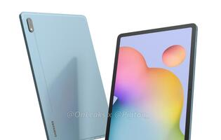 Leaked renders provide the first look at Samsung's upcoming Galaxy Tab S7