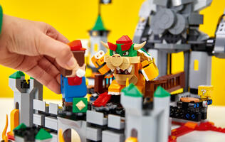 LEGO has fully revealed its upcoming Lego Super Mario range of toys and playsets