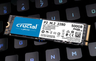 Crucial's entry-level P2 PCIe NVMe SSD is now available in SG