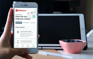 OCBC launches healthcare app to help ease concerns over a second wave of infections