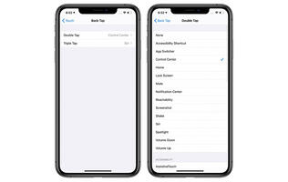 iOS 14 lets you perform actions by tapping the back of your iPhone