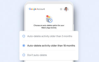 Newly created Google accounts to have stronger location and web history auto-delete defaults