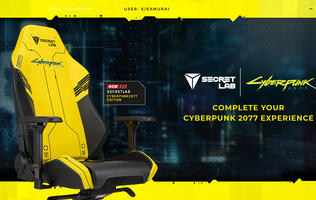 Secretlab is making an official Cyberpunk 2077 gaming chair