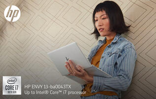 Express your creativity with the HP ENVY 13 notebook