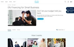 SMBs to get interest-free financing from Cisco to ensure connection to staff and customers