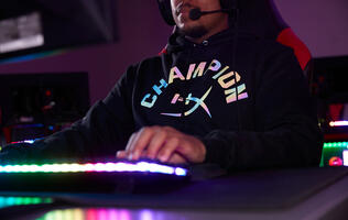 HyperX teams up with Champion on a limited edition line of reflective clothing