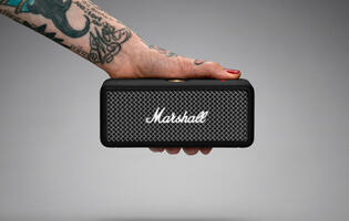 Marshall releases a portable, multi-directional speaker called the Emberton