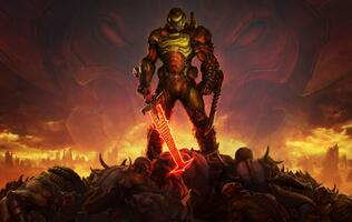 The Nintendo Switch port for Doom Eternal is on its way