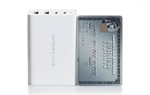 Hyper has a 100W GaN USB-C charger that's the size of a credit card