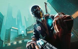 Ubisoft Forward: The PC open beta for Ubisoft's upcoming battle royale Hyper Scape begins today