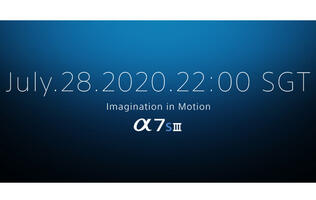 Sony will unveil the long-awaited A7S III on 28 July