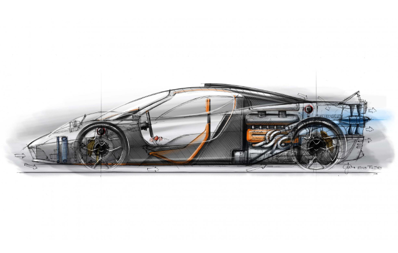 Gordon Murray's T.50 will be powered by a V12 that makes 663hp and will rev to 12,100rpm