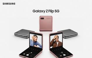 Samsung unveils the 5G variant of the Galaxy Z Flip