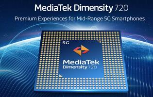 MediaTek unveils Dimensity 720 5G chipset for midrange phones