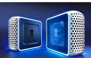 Konami has unveiled a new line of Arespear desktop PCs